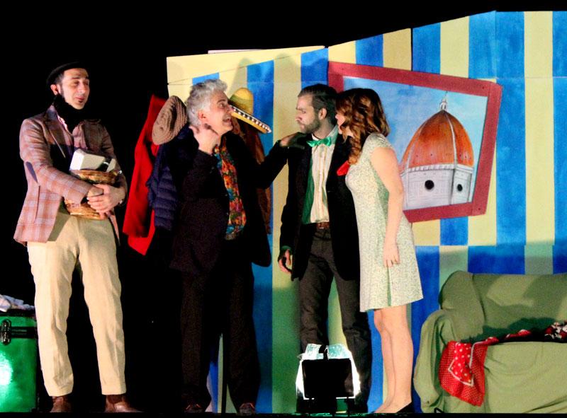Momenti durante lo spettacolo